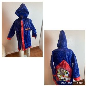 Disney toy story children's raincoat.